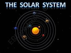esl english powerpoints the solar system