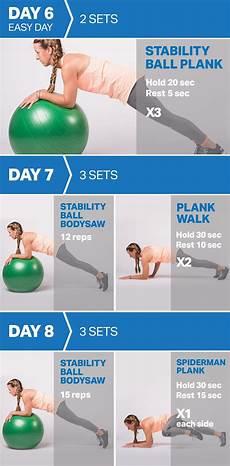 plank plan the 14 day plank plan fitness myfitnesspal