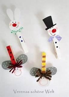 Wäscheklammern Basteln Weihnachten - bunte w 228 scheklammer bastelideen mit w 228 scheklammer cooles