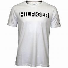 hilfiger hilfiger crew neck jersey t shirt white
