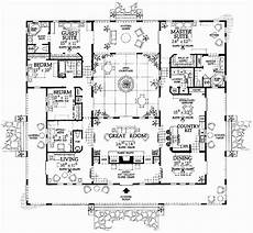 spanish style house plans with interior courtyard house plans with central courtyard luxury fresh courtyard