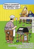 Gerald Converted The BBQ Grill To Natural Gas ROFL