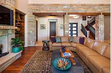 new waterfront home transitional living room austin by dawn hearn interior design