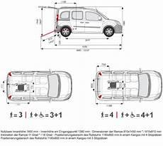 Focaccia Suisse Renault Kangoo F 252 R Behinderte