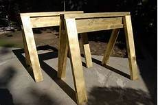 holzbock selber bauen how to building strong sawhorses out of 2 215 4 s artistic