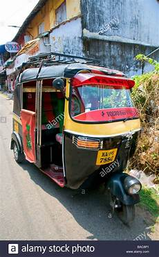 tut tut taxi in the streets of mattancherry cochin