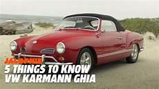 vw karmann ghia 5 things to about the vw karmann ghia