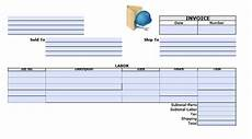 labor receipt template free free general labor invoice template excel pdf word