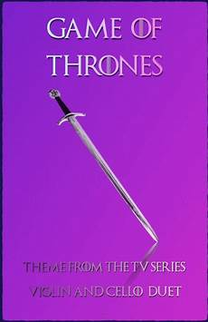 download game of thrones theme duet for violin and cello