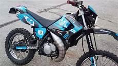 My Custom Adidas Yamaha Dt 125 Re 170cc Athena With Custom