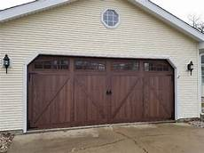 Chi Garage Doors 5217 by Chi Carriage House Series Overlay Vs Flush