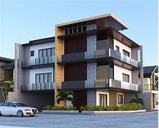3 takes on modern apartment 3 stories residential building modern house plans