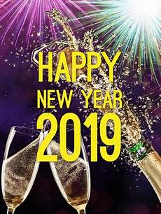 cheers happy new year card 2019 birthday greeting cards by davia