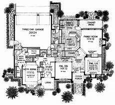 chateauesque house plans floor plans aflfpw14873 2 story chateauesque home with 4