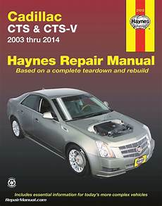 small engine service manuals 2012 cadillac cts on board diagnostic system cadillac cts cts v 2003 2014 repair manual by haynes