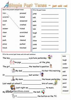 free worksheets preterite tense 18676 simple past tense add ed poon simple student centered resources and worksheets