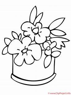 Blumen Malvorlage Kostenlos Blumen Ausmalbild Zum Ausmalen With Images