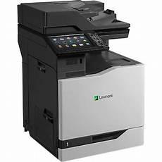 lexmark cx825de color laser all in one printer copier scanner fax office depot