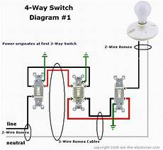 hallway light wiring diagram i 6 hallway lights controlled by 5 4 way switches