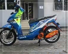 Modifikasi Motor Beat 2012 by Foto Modifikasi Motor Beat Yang Simple Sederhana Bagus