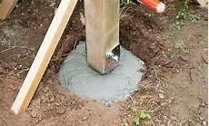 ruck zuck beton fundament zaunpfosten einbetonieren fundamente selbst de