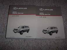 free service manuals online 2003 lexus lx windshield wipe control 2003 lexus lx470 suv shop service repair manual 4 7l v8 ebay