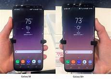 Size Comparison Of The S8 Vs S8 Plus With Small