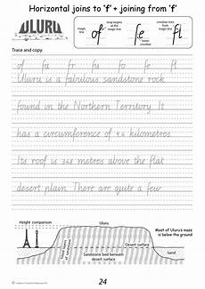 handwriting worksheets year 4 cursive 21651 handwriting conventions vic year 4 teachers 4 teachers educational resources and supplies