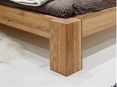 Eiche Massiv Möbel - bett massiv eiche 180x200cm pfosten 18x18cm easy sleep