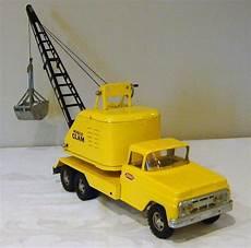 tonka toys ford cab mobile clam crane truck v 60 s