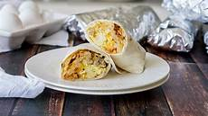 easy make ahead breakfast burritos pillsbury com