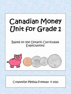 money worksheets grade 1 canadian 2167 canadian money unit for grade 1 ontario curriculum worksheets coins and activities