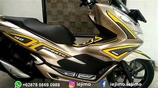 Modifikasi Motor Pcx by Modifikasi Honda Pcx 150 Tahun 2018 Motor Gold