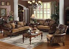 dreena set 3 pcs sofa loveseat chair leather chenille