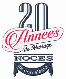 20 Ans De Mariage Noces De Porcelaine Symbole Id 233 Es