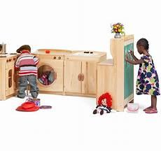 Preschool Kitchen Furniture Woodcrest Kitchen Set From Community Playthings