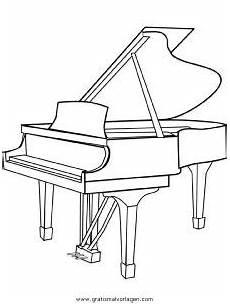 klavier gratis malvorlage in diverse malvorlagen musik
