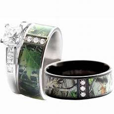 camo wedding rings for him camo wedding ring for him and stainless steel