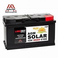 batterie für mover solarbatterie 12v 90ah agm gel batterie wohnmobil boot