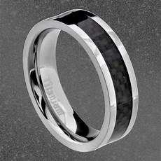 titanium black carbon fiber stripe comfort fit men s
