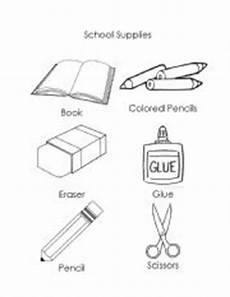 worksheets school supplies 18456 school supplies esl worksheet by notaclown2