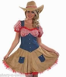 Femme Far West Cowboy Costume D 233 Guisement 8