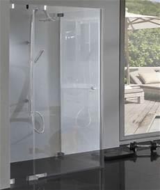 duschkabine glas ebenerdig rahmenlose glas duschkabine mit pendelt 252 r und fester