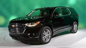 2018 Chevy Traverse Pricing Released New Design