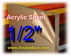 1 2 acrylic sheet building a clear whiteboard a stand