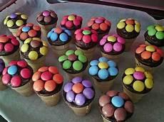 Kleine Kuchen Im Waffelbecher Rezept Kuchen