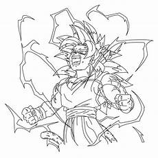 ssj5 goku dbna line by nassif9000 on deviantart
