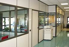 uffici usati pareti divisorie in cartongesso e vetro