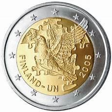 2 euros finlande finlande 2 comm 233 morative 2005 valeur des pi 232 ces