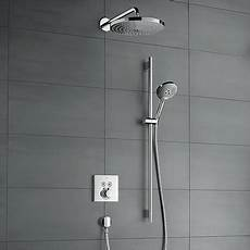 Select New Concealed Solutions For Bathrooms Hansgrohe